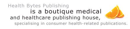 Health Bytes  Publishing is a boutique medical and healthcare publishing house, specialising in consumer health-related publications.